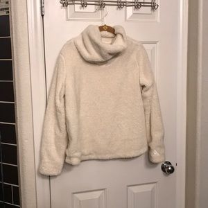 Anthropologie Sherpa pullover